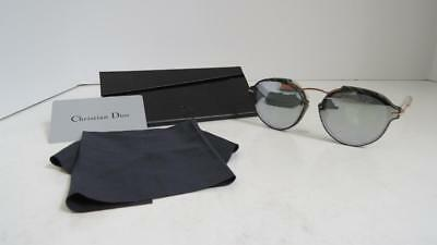 70e478a8ab9 Christian Dior  Eclat  Grey Gold Frame Mirrored Grey Lens Sunglasses GC1DC