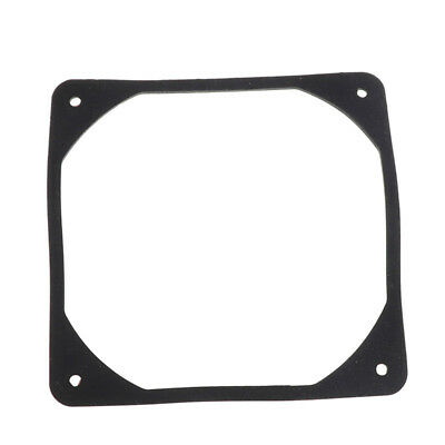 120mm PC Case Fan Anti vibration Gasket Silicone Shock Proof Absorption Pad MA O
