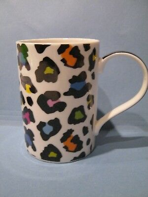 Burton + Burton Coffee Mug Sassy Safari Cheetah Leopard Porcelain Bone China