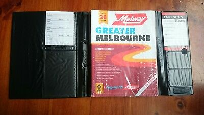 Melway Melways Greater Melbourne Street Directory Edition 28, 2001 w/ protector
