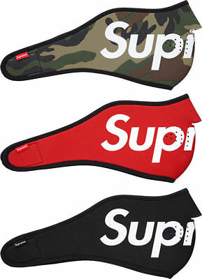 Supreme Neoprene Face Mask Red Black bathing ape bape ayo & teo mask FAST SHIP!p