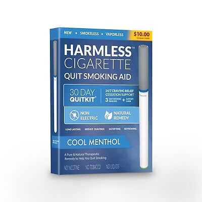 Harmless Cigarette / Natural Stop Smoking Aid To Help You Successfully Quit.