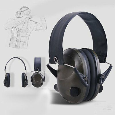 Foldable Anti-Noise Tactical Shooting Headset Soft Padded Electronic Earmuff ZD