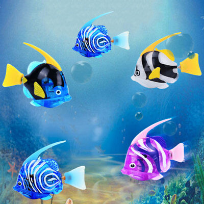 Swimming Robofish Activated Battery Powered Robo Fish Toy Aquarium Decor