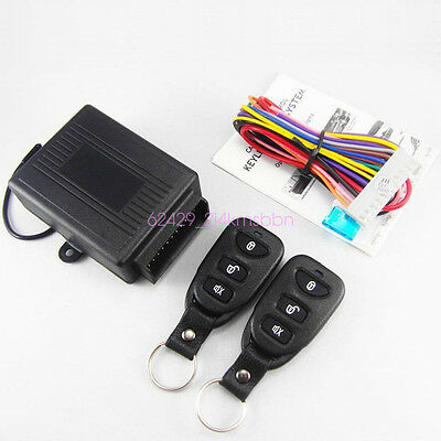 Anti-theft Remote Control Central Kit Door Lock Keyless Entry System For All Car