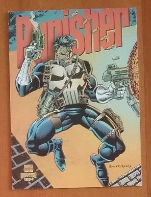 1994 Marvel Universe Cards PUNISHER Limited Edition No. 2