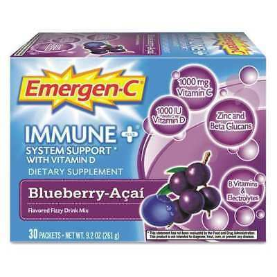 EMERGEN-C EF007 Beverage, Immune, Berry, PK30