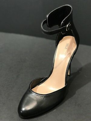 cbbbbdf9aae NEW Sole Society So-Rachael Size 8.5M Black Leather Pump High Heel New