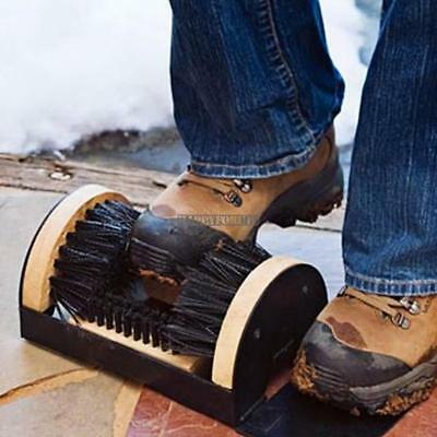 Shoe Boot Cleaning Brush Scrubber Sneakers Floor Mount Scraper FREE SHIPPING 02
