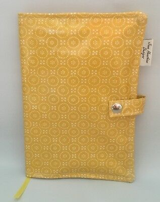 A5 Diary Cover,Journal Cover,Nurses Diary Cover,Bible Cover,Yellow Dolly