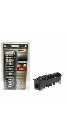 Wahl Premium Metal Attachment Clipper Guards 8 Pack / SAME DAY POST