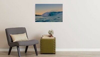 Home Decor Wave Print Wall Art Ocean Beach Nature landscape picture no frame