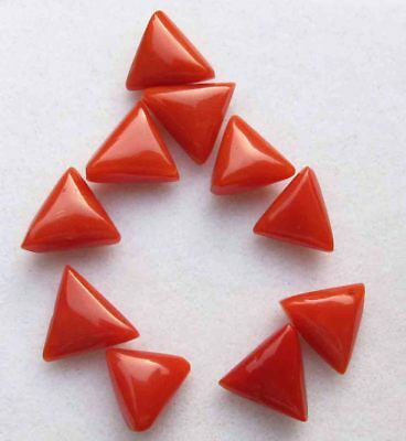 14.10 Cts Excellent Quality Natural Red Italian Coral Loose Gemstone lot