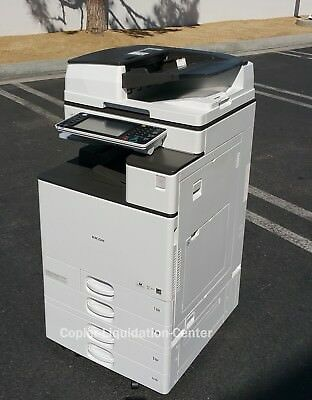 Ricoh MP C5503 Color Tabloid Copier Printer Scan All-in-One Aficio 55 PPM  .ju