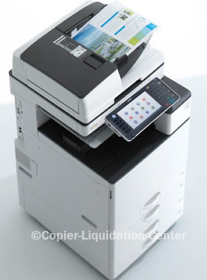 Ricoh MP C4503 Color Copier Printer Scan All-in-One 45 PPM low meter < 20k  .l