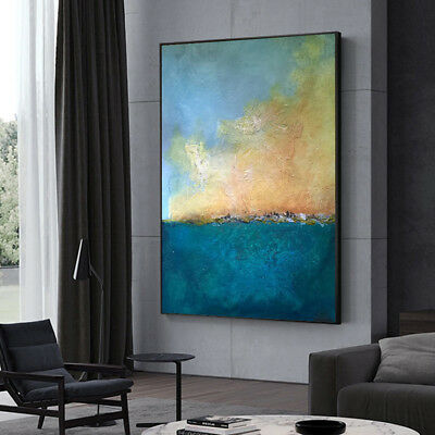 HH326 Modern decor art Abstract oil painting Hand-painted on canvas No Frame