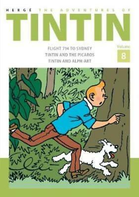 The Adventures of Tintin Volume 8 by Herge: New