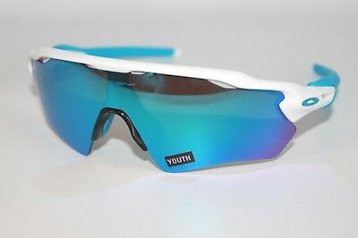 f636a03738 Oakley Radar EV XS Path Sunglasses OJ9001-0131 White W  Sapphire Iridium  YOUTH