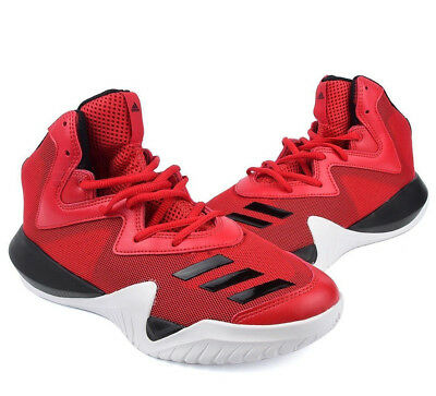 low priced f6648 1c121 NEW Adidas CRAZY TEAM 2017 Red Basketball Shoes Adidas B49400 New