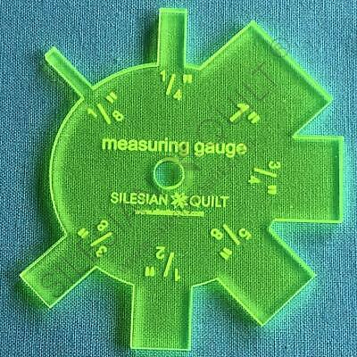 Template for cutting and patchwork - Measuring Gaude