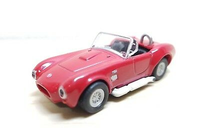 1/72 1966 FORD SHELBY COBRA 427 RED diecast car model