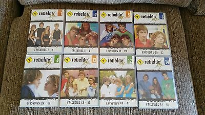 Rbd - Rebelde Way - 32 Capitulos 8 Dvd Spanish Edition Unico Ebay!!!