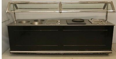 Forbes Industries Hot Buffet Table 3 Heaters 2 Hot Plates Professional L@@K
