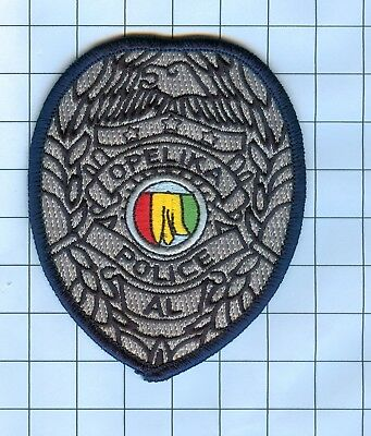 Police Patch Embroidered Mini-Patch  - Alabama - Opelika AL