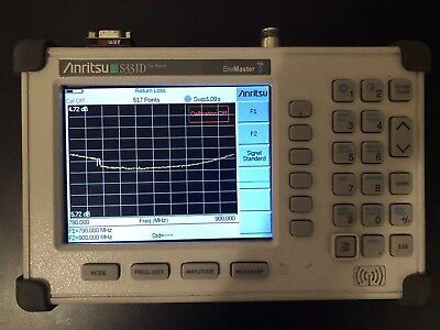 Anritsu Site Master S331D Cable/Antenna Analyzer Color Screen!!
