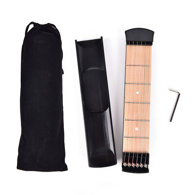 Portable Pocket Guitar Practice 6 Strings Guitar Trainer Gadget for Beginne WRDE