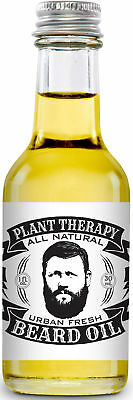 Plant Therapy Beard Oil, All Natural, Urban Fresh