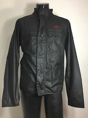 New Barbour International Wax Cotton Lock Jacket Men's M Made In England