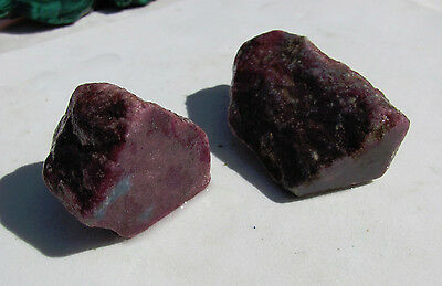 RARE and SCARCE Lot of  RUBY / SAPPHIRE 120 grams
