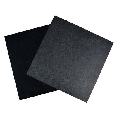 300x300x0.5mm Thick Black  ABS Plastic Sheet Plate Board Panel DIY Model Craft