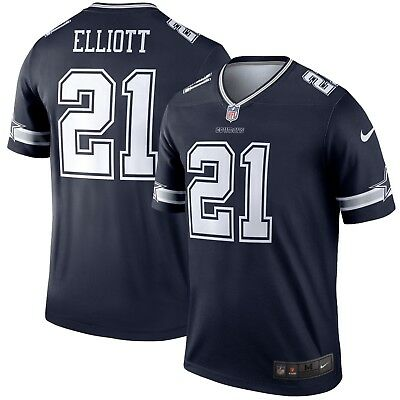 8699a20c9eb Ezekiel Elliott Dallas Cowboys Nike Color Rush Legend NFL Jersey - Navy