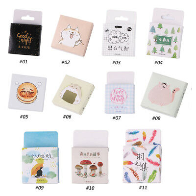 45Pcs/Box Greetings Paper Stickers Diary Decoration DIY Scrapbooking Sticker New