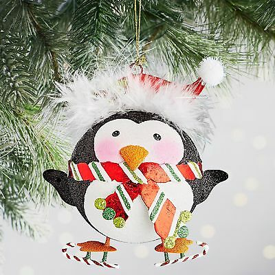 Pier 1 imports Glittered Penguin Ornament