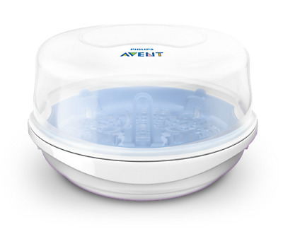 Philips AVENT 4 Baby Bottle Microwave Steam Sterilizer