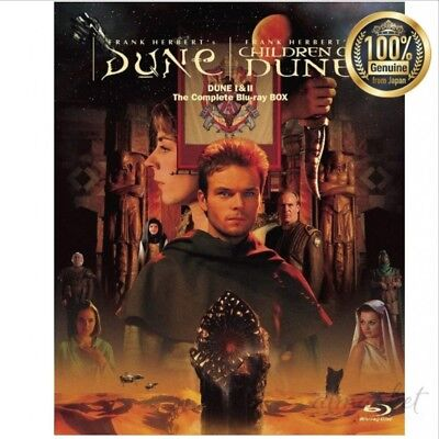 NEW Dune sand planet I & II The Complete Blu-ray BOX genuine from JAPAN