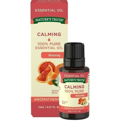 Nature's Truth Aromatherapy 100% Pure Essential Oil Relaxing .51 oz