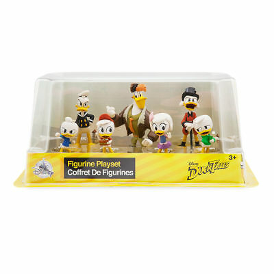 Authentic Disney Donald Duck Figure Set figurine Toy Cake Topper DuckTales New