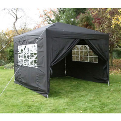 3x3m 3x4.5m Pop-Up Gazebo Waterproof Garden Gazeboes Tent 4 Leg Weight Bag UK