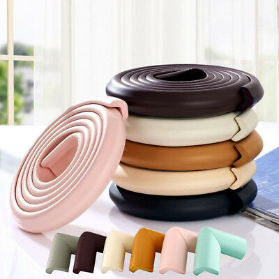 2M Kids Baby Safety Foam Rubber Bumper Strip Safety Table Edge Corner Protector