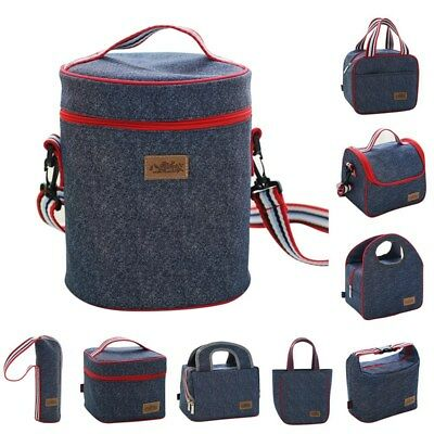 AU Adult Lunch Box Insulated Lunch Bag Large Cooler Tote Bag for Men Women Kids
