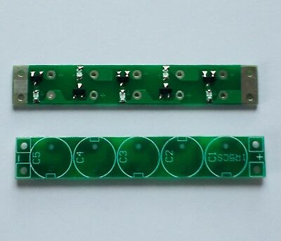SUPER CAPACITOR BALANCER PCB with LED Indicators 2 7V 3V 10-20F 15 Volts 5S