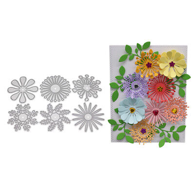 DIY Flowers Cutting Dies Stencil Scrapbooking Embossing Album Paper Card Craft