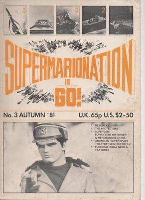 Supermarionation is Go (Gerry Anderson) #3 Autumn 1981 Very  Good Condition