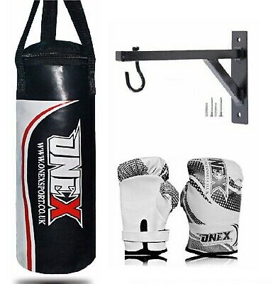 Kids Boxing Punch Bag heavy Filled Exercise 40cm junior MMA  arts gym//home