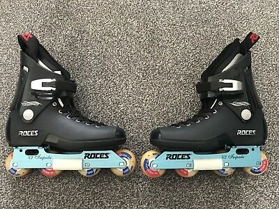 Roces 62 Impala Skates Size UK8 NOT Valo, Razors, USD, Salomon, Roller Blade, K2