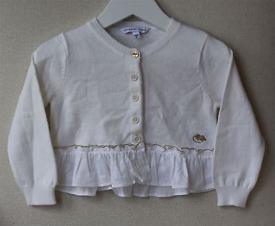 Little Marc Jacobs Baby Girls White Cardigan 18 Months